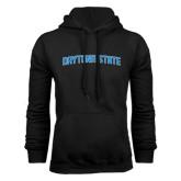 Black Fleece Hoodie-Daytona State Arch