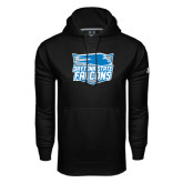 Under Armour Black Performance Sweats Team Hood-Official Logo