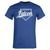 Royal T Shirt-Baseball Home Plate