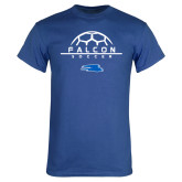 Royal T Shirt-Soccer on Top