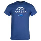 Royal T Shirt-Soccer on Top