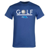 Royal T Shirt-Golf Underline