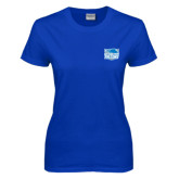 Ladies Royal T Shirt-Official Logo