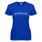 Ladies Royal T Shirt-Daytona State Arch