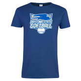 Ladies Royal T Shirt-Softball