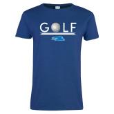Ladies Royal T Shirt-Golf Underline