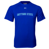Under Armour Royal Tech Tee-Daytona State Arch