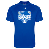 Under Armour Royal Tech Tee-Baseball