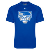 Under Armour Royal Tech Tee-Golf