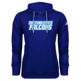Adidas Climawarm Royal Team Issue Hoodie-Daytona State Falcons Stacked
