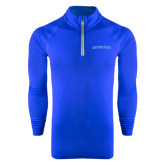 Under Armour Royal Tech 1/4 Zip Performance Shirt-Daytona State Arch