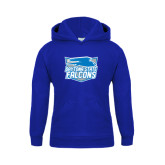 Youth Royal Fleece Hoodie-Official Logo