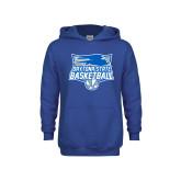 Youth Royal Fleece Hood-Basketball