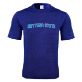 Performance Royal Heather Contender Tee-Daytona State Arch