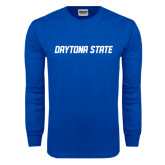 Royal Long Sleeve T Shirt-Daytona State