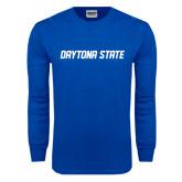 Royal Long Sleeve T Shirt-Daytona State