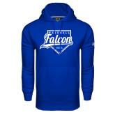 Under Armour Royal Performance Sweats Team Hoodie-Baseball Home Plate