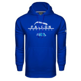 Under Armour Royal Performance Sweats Team Hoodie-Softball Laces on Top