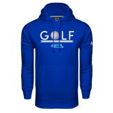Under Armour Royal Performance Sweats Team Hood-Golf Underline