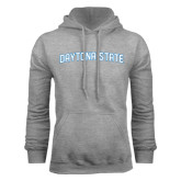 Grey Fleece Hood-Daytona State Arch