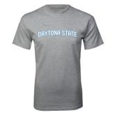 Grey T Shirt-Daytona State Arch