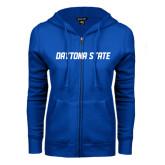 ENZA Ladies Royal Fleece Full Zip Hoodie-Daytona State