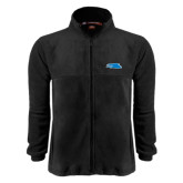 Fleece Full Zip Black Jacket-Falcon