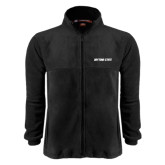 Fleece Full Zip Black Jacket-Daytona State