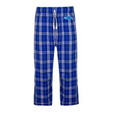 Royal/White Flannel Pajama Pant-Falcon