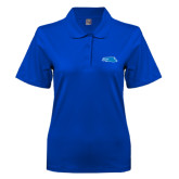 Ladies Easycare Royal Pique Polo-Falcon