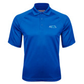 Royal Textured Saddle Shoulder Polo-Falcon