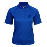 Ladies Royal Textured Saddle Shoulder Polo-Official Logo Engraved