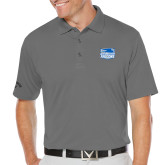 Callaway Opti Dri Steel Grey Chev Polo-Official Logo