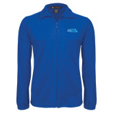 Fleece Full Zip Royal Jacket-Falcon