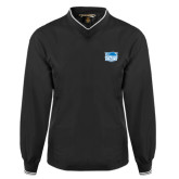 Black Executive Windshirt-Official Logo
