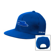 Royal Flat Bill Snapback Hat-Falcon