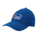 Royal Flexfit Structured Low Profile Hat-Official Logo