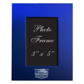 Royal Brushed Aluminum 3 x 5 Photo Frame-Official Logo Engraved