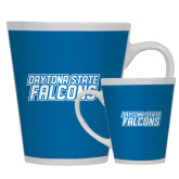 Full Color Latte Mug 12oz-Daytona State Falcons Stacked
