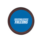 Round Coaster Frame w/Insert-Daytona State Falcons Stacked