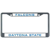 Metal License Plate Frame in Black-Mascot