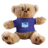 Plush Big Paw 8 1/2 inch Brown Bear w/Royal Shirt-Official Logo