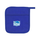 Quilted Canvas Royal Pot Holder-Official Logo