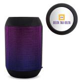 Disco Wireless Speaker/FM Radio-Stacked Signature