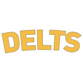 Large Decal-Delts, 12 inches wide