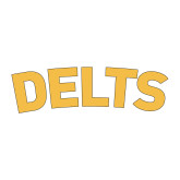 Small Decal-Delts, 6 inches wide