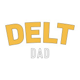 Dad Decal-Delt Dad, 6 inches wide