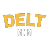 Mom Decal-Delt Mom, 6 inches wide