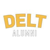 Alumni Decal-Delt Alumni, 6 inches wide