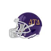 Riddell Replica Purple Mini Helmet-Greek Letters